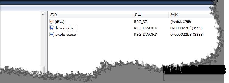 在注册表为程序指定ie浏览器版本